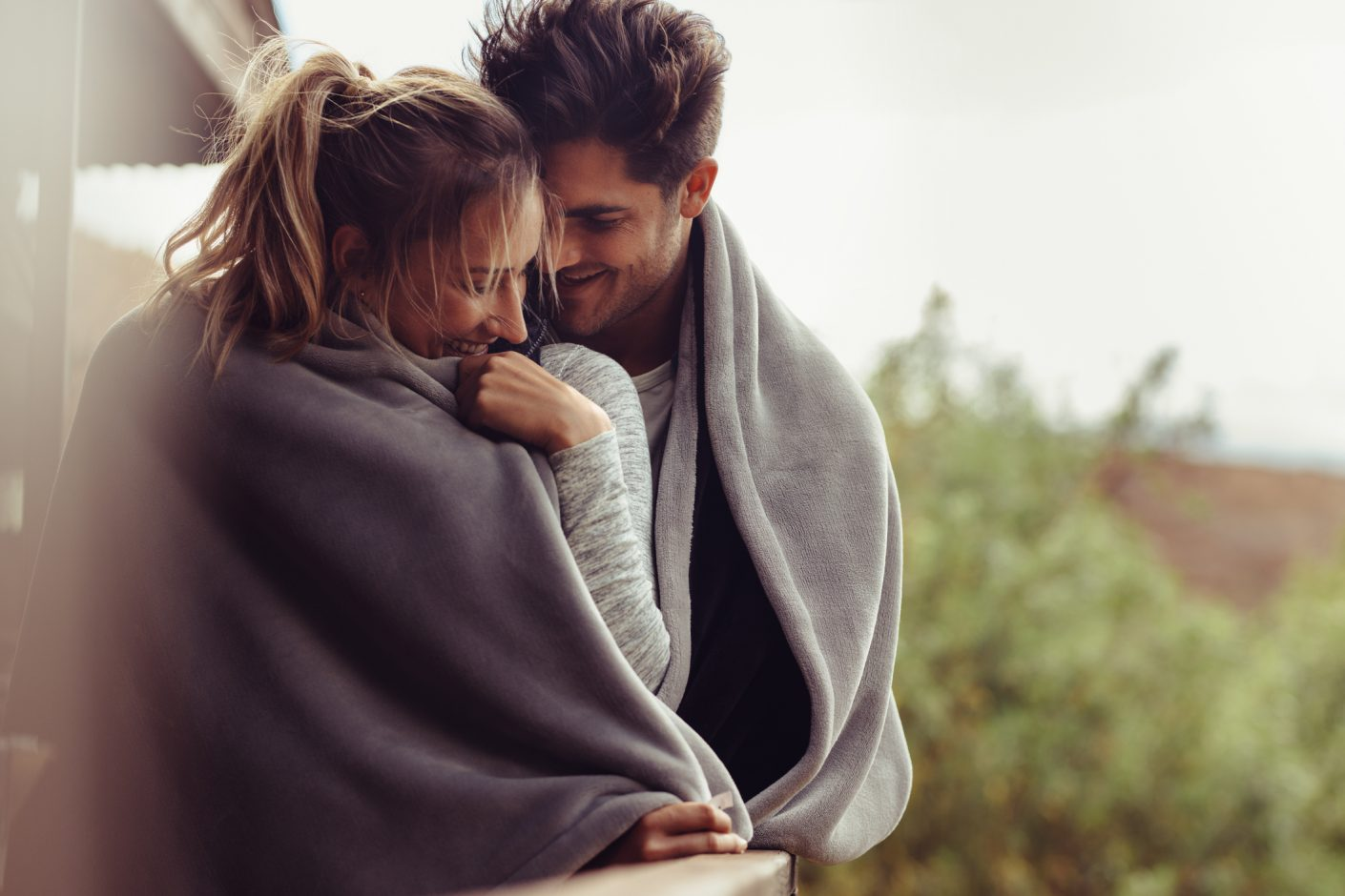 Couple on romantic break