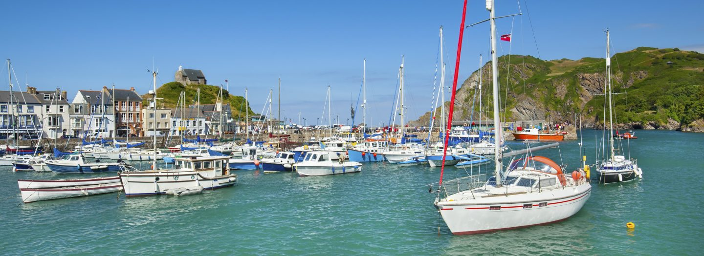 Ilfracombe Harbour in North Devon